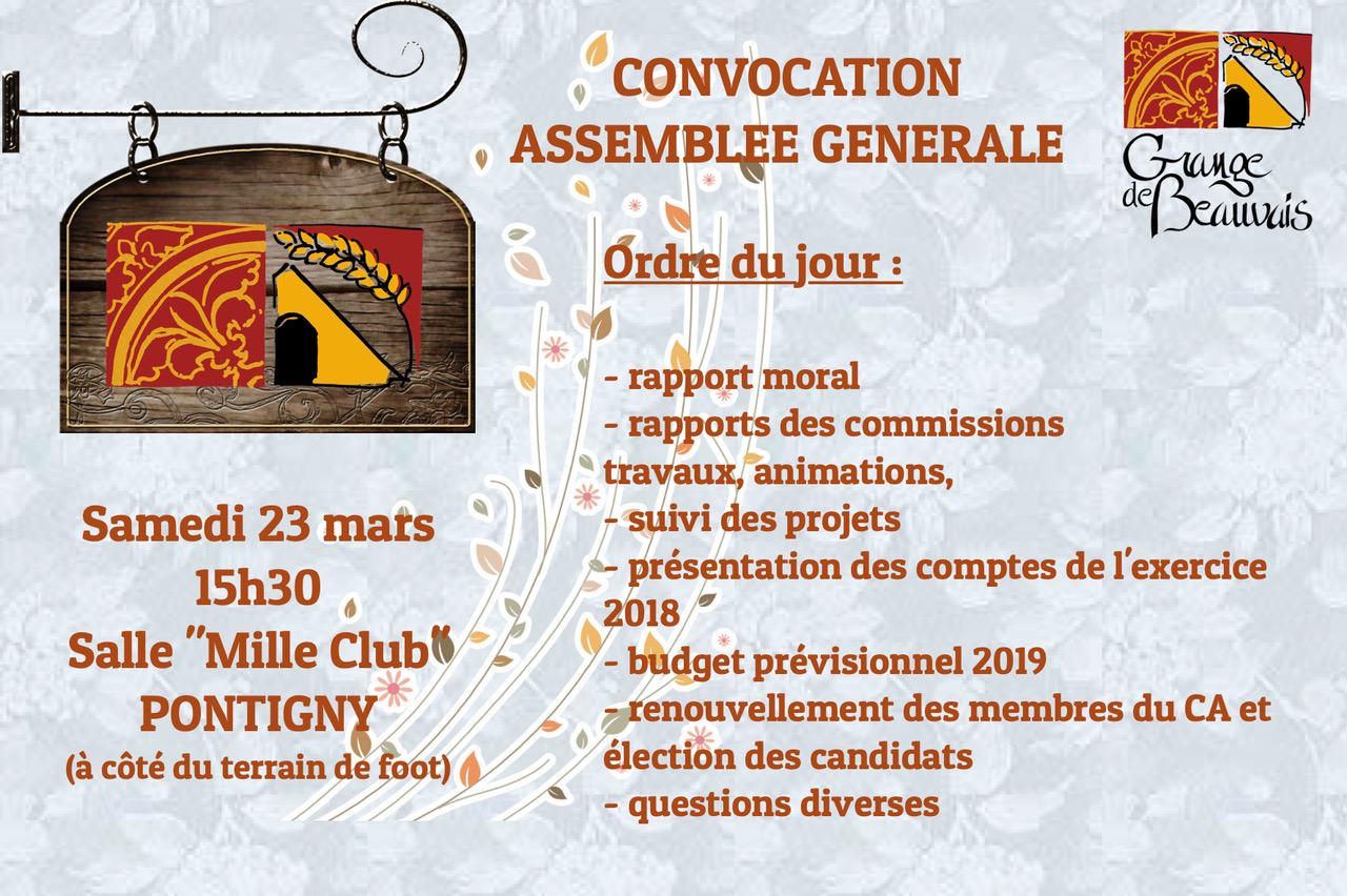 ConvocationAG2019